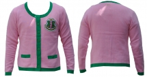 Alpha Kappa Alpha Heavy Weight Cardigan